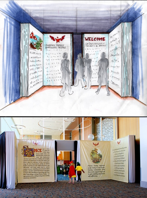 Fairytale Book Entrance