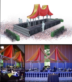Bar Rendering and Actual Setup at 2018 Phoenix Family Un-Gala