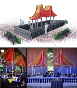 Bar Rendering and Actual Setup at 2018 Phoenix Family Un-Gala